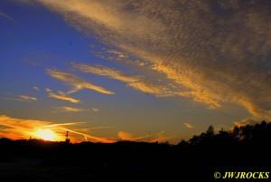 Sun Sets Over Quarry 3