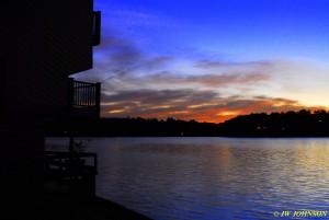 15 Fading Sunset Lake Hamilton