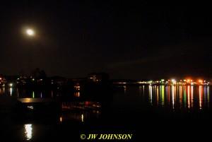 18 Lights Across Lake