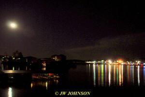 19 Lights Across Lake