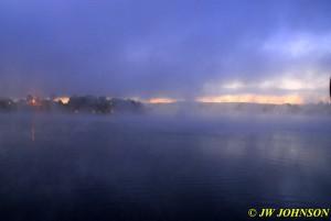 40 Fog & Sunrise Fri Morn