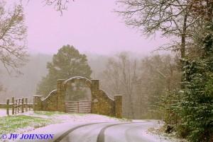 Horse Farm Arch Hughes Ford Rd 2