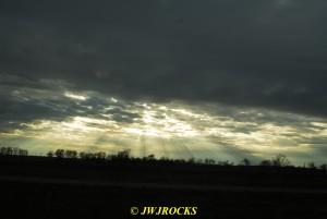103 Sunbeams On Way Home