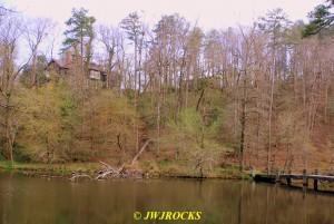 60 DeSoto Lake House Above Lake