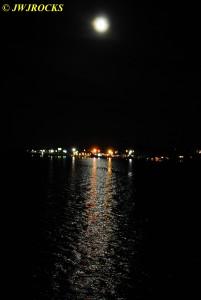 85 Big Moon Over Lake Hamilton