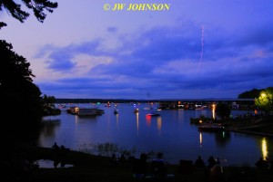 00P Harbor Skies Darken Toy Plane Flits About