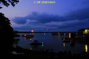 00TT Harbor Skies Darken Toy Plane Flits About