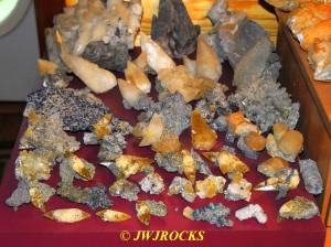 01 Calcites With Marcasite