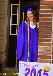 14 Happy Grad With Sign