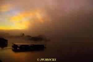 141 Heavy Fog Sunrise Sat Morning
