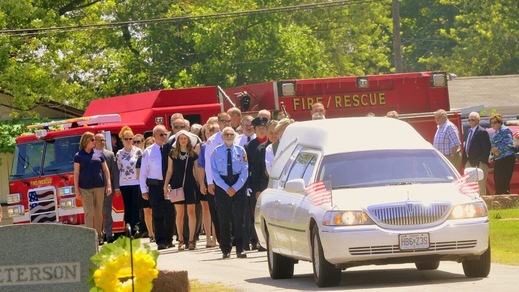 59 Procession Enters Cemetery