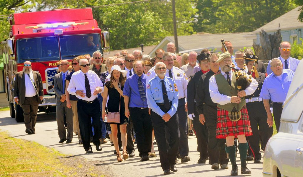 61 Procession Enters Cemetery