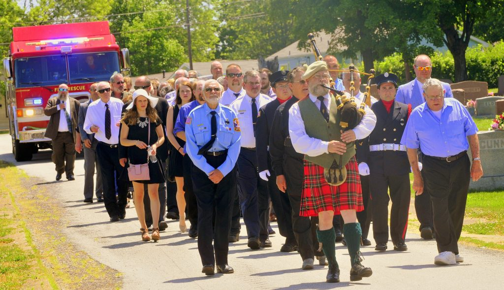 68 Procession Enters Cemetery