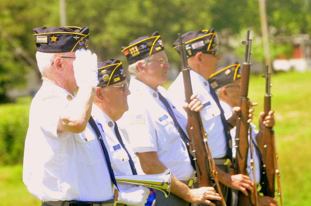 72 Military Salute Detail