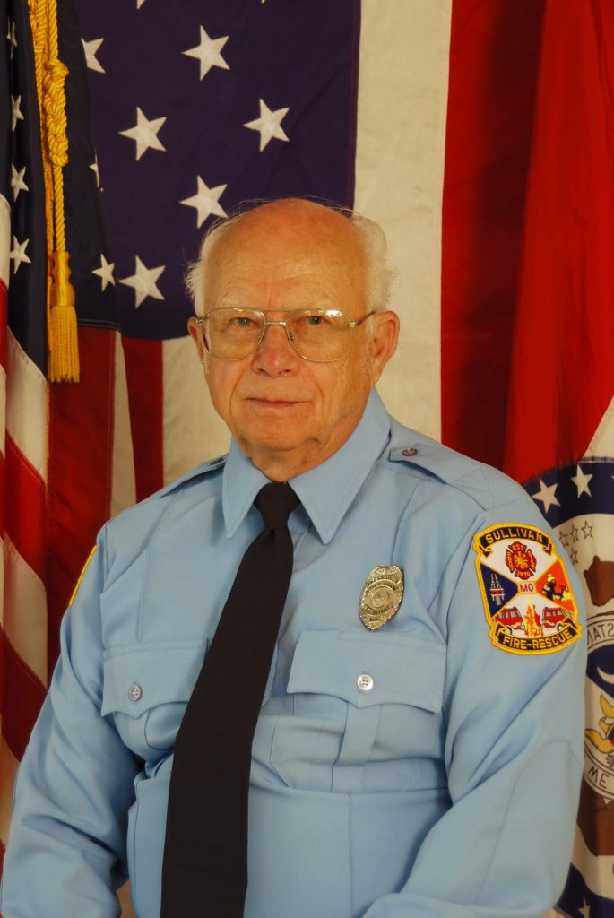 Jim Johnson, Honorary Firefighter